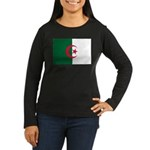Algeria Women's Long Sleeve Dark T-Shirt