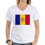 Andorra Women's V-Neck T-Shirt