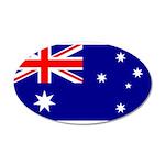 Australia 22x14 Oval Wall Peel