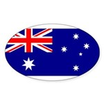 Australia Sticker (Oval)