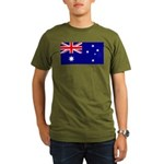 Australia Organic Men's T-Shirt (dark)