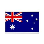 Australia Rectangle Magnet (100 pack)