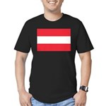 Austria Men's Fitted T-Shirt (dark)