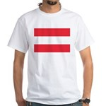 Austria White T-Shirt