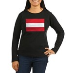 Austria Women's Long Sleeve Dark T-Shirt