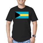 The Bahamas Men's Fitted T-Shirt (dark)
