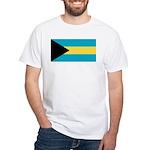 The Bahamas White T-Shirt