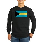 The Bahamas Long Sleeve Dark T-Shirt