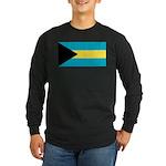 The Bahamas Long Sleeve Dark T-Shirt