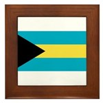 The Bahamas Framed Tile