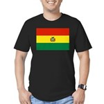 Bolivia Men's Fitted T-Shirt (dark)