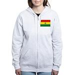 Bolivia Women's Zip Hoodie