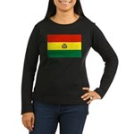 Bolivia Women's Long Sleeve Dark T-Shirt