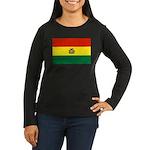 Bolivia Women's Long Sleeve Dark T-Shirt
