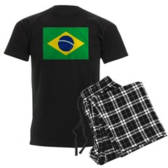 Brazil Men's Dark Pajamas