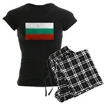 Bulgaria Women's Dark Pajamas