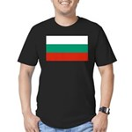 Bulgaria Men's Fitted T-Shirt (dark)