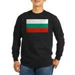 Bulgaria Long Sleeve Dark T-Shirt