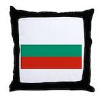 Bulgaria Throw Pillow