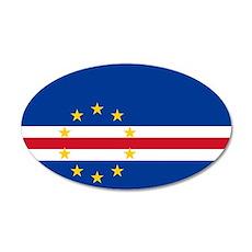 Cape Verde 38.5 x 24.5 Oval Wall Peel