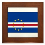 Cape Verde Framed Tile