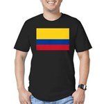 Colombia Men's Fitted T-Shirt (dark)