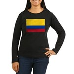 Colombia Women's Long Sleeve Dark T-Shirt