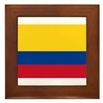 Colombia Framed Tile
