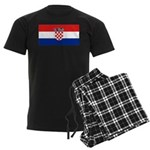 Croatia Men's Dark Pajamas