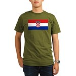 Croatia Organic Men's T-Shirt (dark)