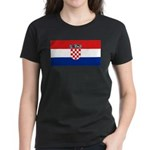 Croatia Women's Dark T-Shirt