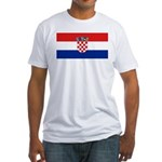 Croatia Fitted T-Shirt