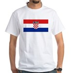 Croatia White T-Shirt