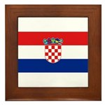 Croatia Framed Tile