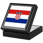 Croatia Keepsake Box