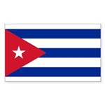 Cuba Sticker (Rectangle 10 pk)