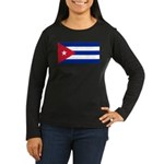 Cuba Women's Long Sleeve Dark T-Shirt