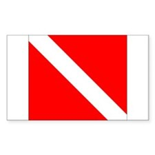 Diver Down Decal