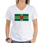 Dominica Women's V-Neck T-Shirt