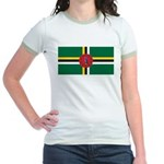 Dominica Jr. Ringer T-Shirt