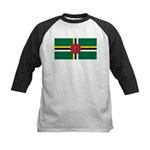 Dominica Kids Baseball Jersey