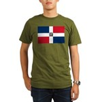 Dominican Republic Organic Men's T-Shirt (dark)