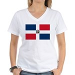 Dominican Republic Women's V-Neck T-Shirt