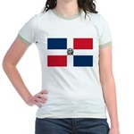 Dominican Republic Jr. Ringer T-Shirt