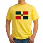 Dominican Republic Yellow T-Shirt