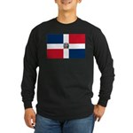 Dominican Republic Long Sleeve Dark T-Shirt