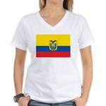 Ecuador Women's V-Neck T-Shirt
