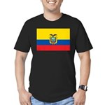 Ecuador Men's Fitted T-Shirt (dark)