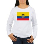 Ecuador Women's Long Sleeve T-Shirt