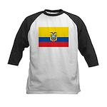 Ecuador Kids Baseball Jersey